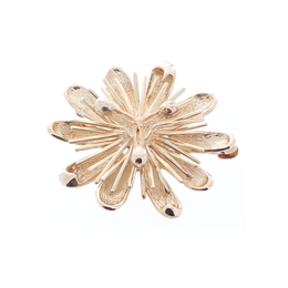18K Yellow Gold Brooch image 2
