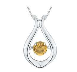 Special $69 Citrine Dancing Pendant  image 2