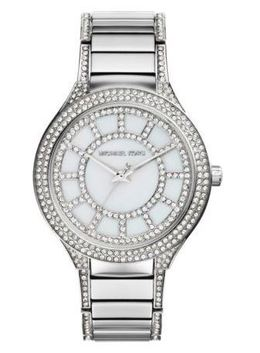 Michael Kors Kerry Pavé Silver-Tone Watch image 2