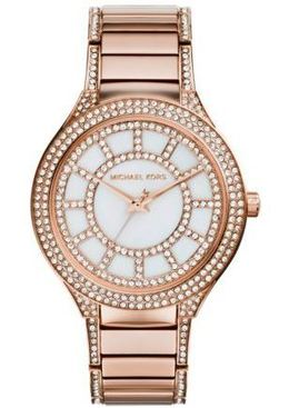 Michael Kors Kerry Pavé Rose Gold-Tone Watch image 2