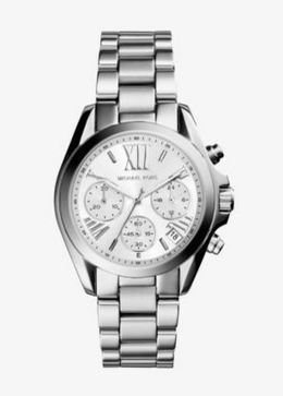 Michael Kors Mini Bradshaw Silver-Tone Watch image 1