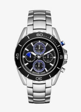 Michael Kors JetMaster Silver-Tone Watch image 2