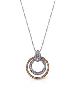 Simon G. Double Circle Pendant