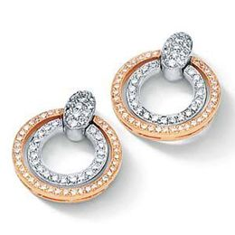 Simon G. Double Circle Earrings