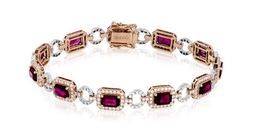 Simon G 18kt Rose & White Gold Bracelet image 2