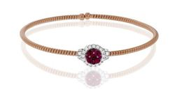 Simon G Sensational 18kt Rose Gold Bangle Bracelet image 2