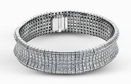 Simon G Dazzling 18kt White Gold Contemporary Bracelet image 2