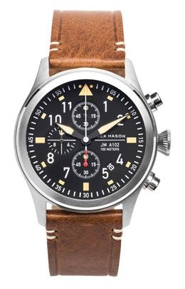 Jack Mason Aviator Chronograph Watch JM-A102-017 image 1
