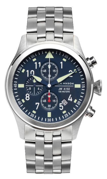 Jack Mason Aviator Chronograph Watch JM-A102-025 image 2