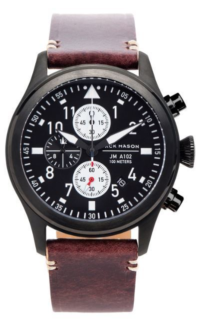 Jack Mason Aviator Chronograph Watch JM-A102-109 image 2