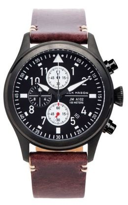 Jack Mason Aviator Chronograph Watch JM-A102-109 image 1