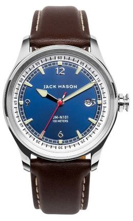 Jack Mason Nautical 3-Hand Watch JM-N101-001 image 1