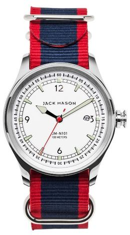 Jack Mason Nautical 3-Hand Watch JM-N101-010 image 1
