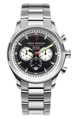 Jack Mason Nautical Chronograph Watch JM-N102-033 image 1